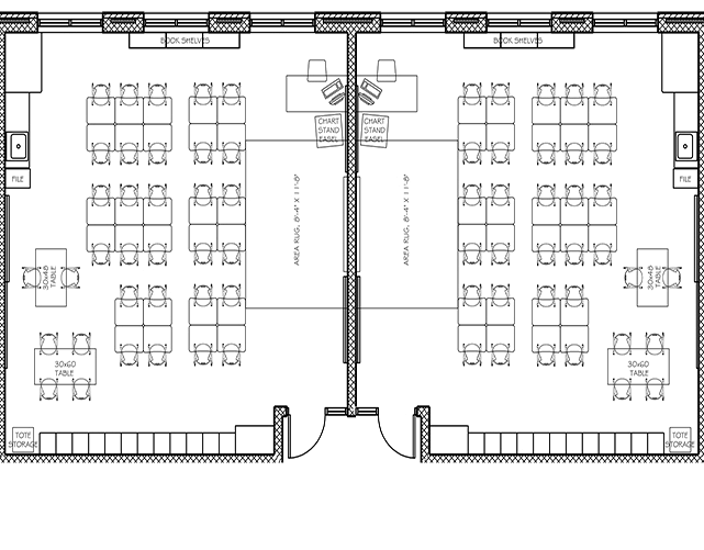 Higher Learning Classroom Layout