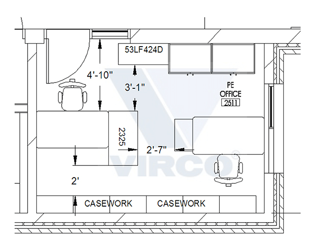 Traditional Office Layout
