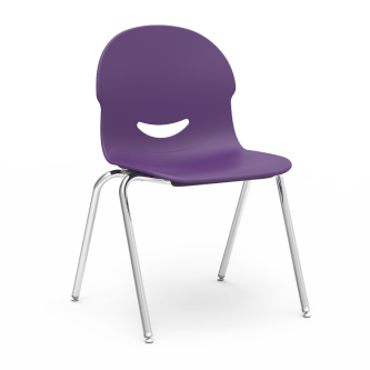 I.Q Chair with a soft plastic bucket and steel frame