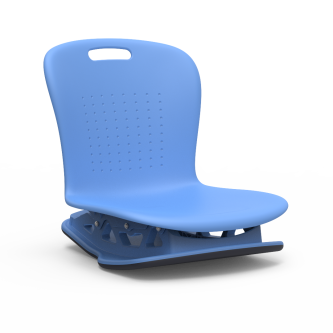 Sage Series Floor Rocker with a soft plastic seat bucket.