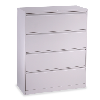 53 Series Lateral Filing Cabinet with Four Letter Sized Drawers