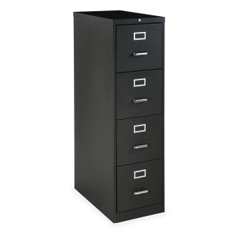 54 Series Vertical Filing Cabinet with Four Legal Sized Drawers