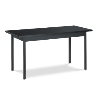 Science Table with Steel-Frame and Rectangle Chemsurf® Top