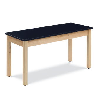 Science Table with Wood-Frame and Rectangle Chemsurf® Top