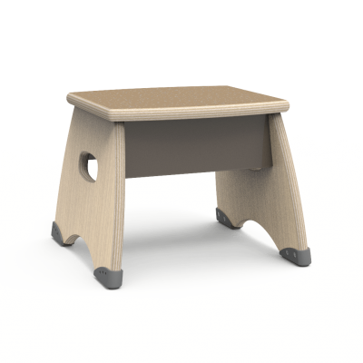 Metonymy non-tip Step Stool with non-slip surface.