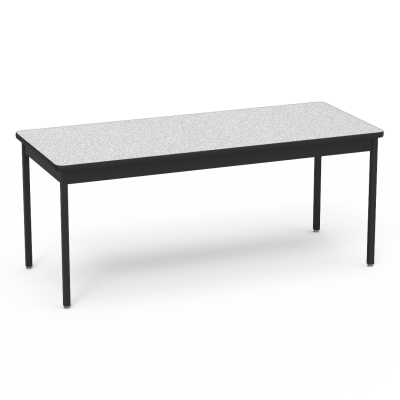 "6800 Series Table with Rectangle Top"" with Steel Apron and  Steel Legs"