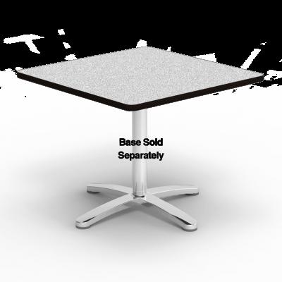 Café Table Square Top Only, No Base